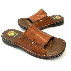 Earth Spirit Departure Leather Comfort Sandals